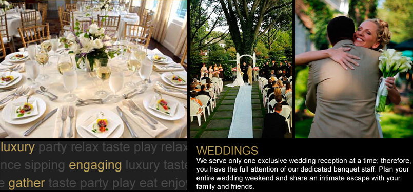 Weddings at Estate at Three Village Inn