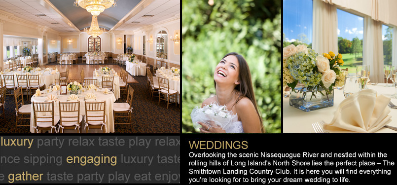 Weddings at Smithtown Landing Country Club